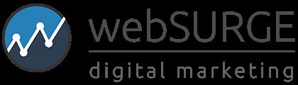 webSURGE Digital Marketing dark text logo